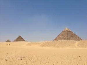 ギザの3大ピラミッド(カイロ)