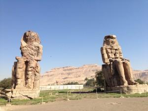 メムノンの巨像(ルクソール)