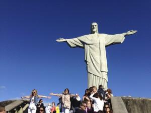 キリスト像(コルコバードの丘)