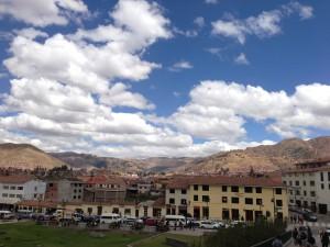 クスコの空(ペルー)
