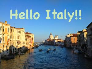Hello Italy!!