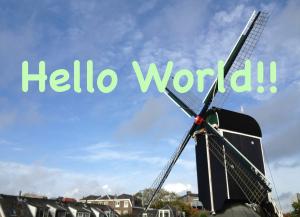 世界のあいさつ「Hello World !! 」