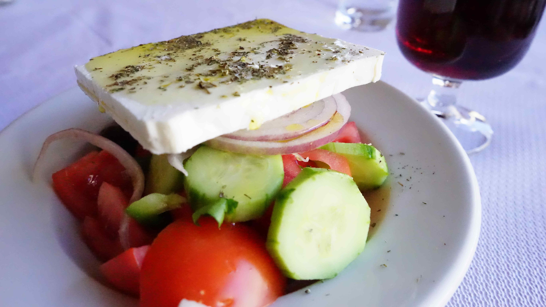 グリークサラダ(ギリシャ料理)
