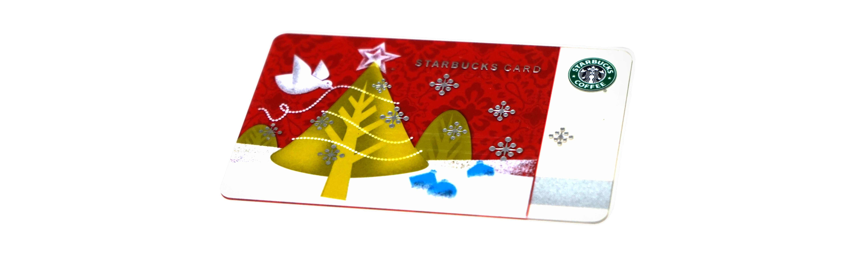 クリスマスツリー スタバカード