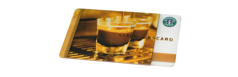 エスプレッソコーヒー スタバカード