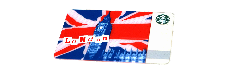 ロンドンシティー(スターバックスカード)