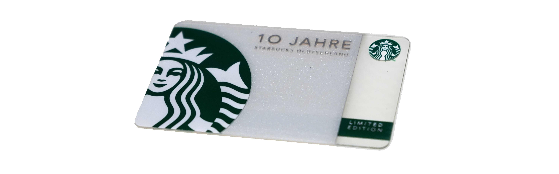 10 JAHRE オランダ限定版(スターバックスカード)
