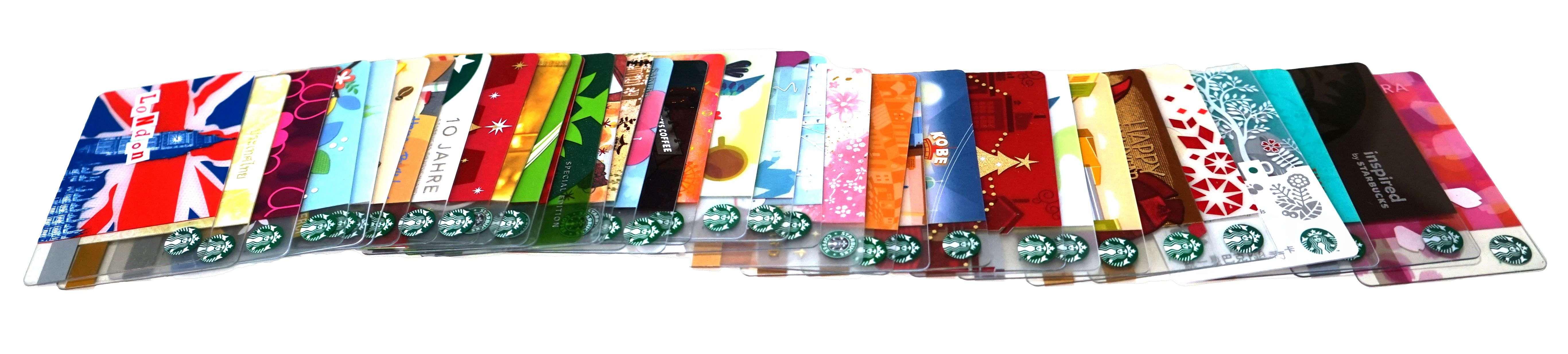 国内・海外のスタバカード・スターバックスカードコレクション