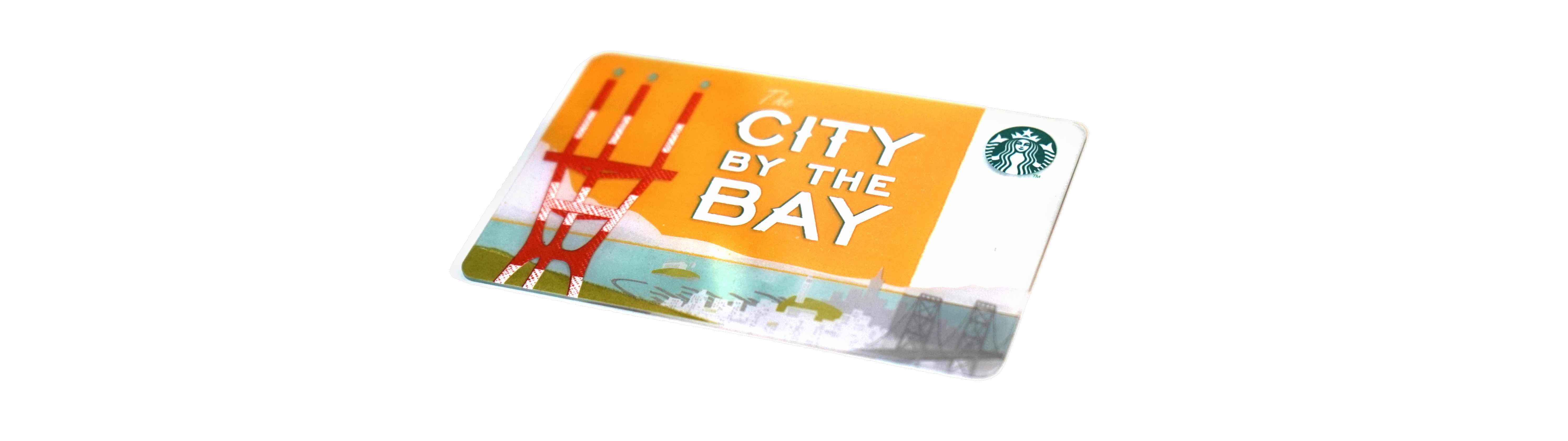 スターバックスカード CITY BY THE BAY