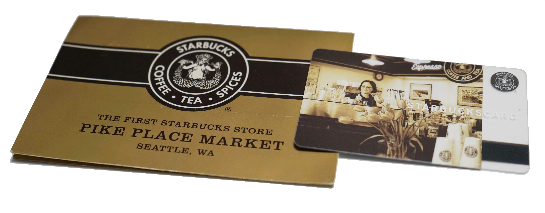 スターバックス カード 1号店 シアトル Pike Place