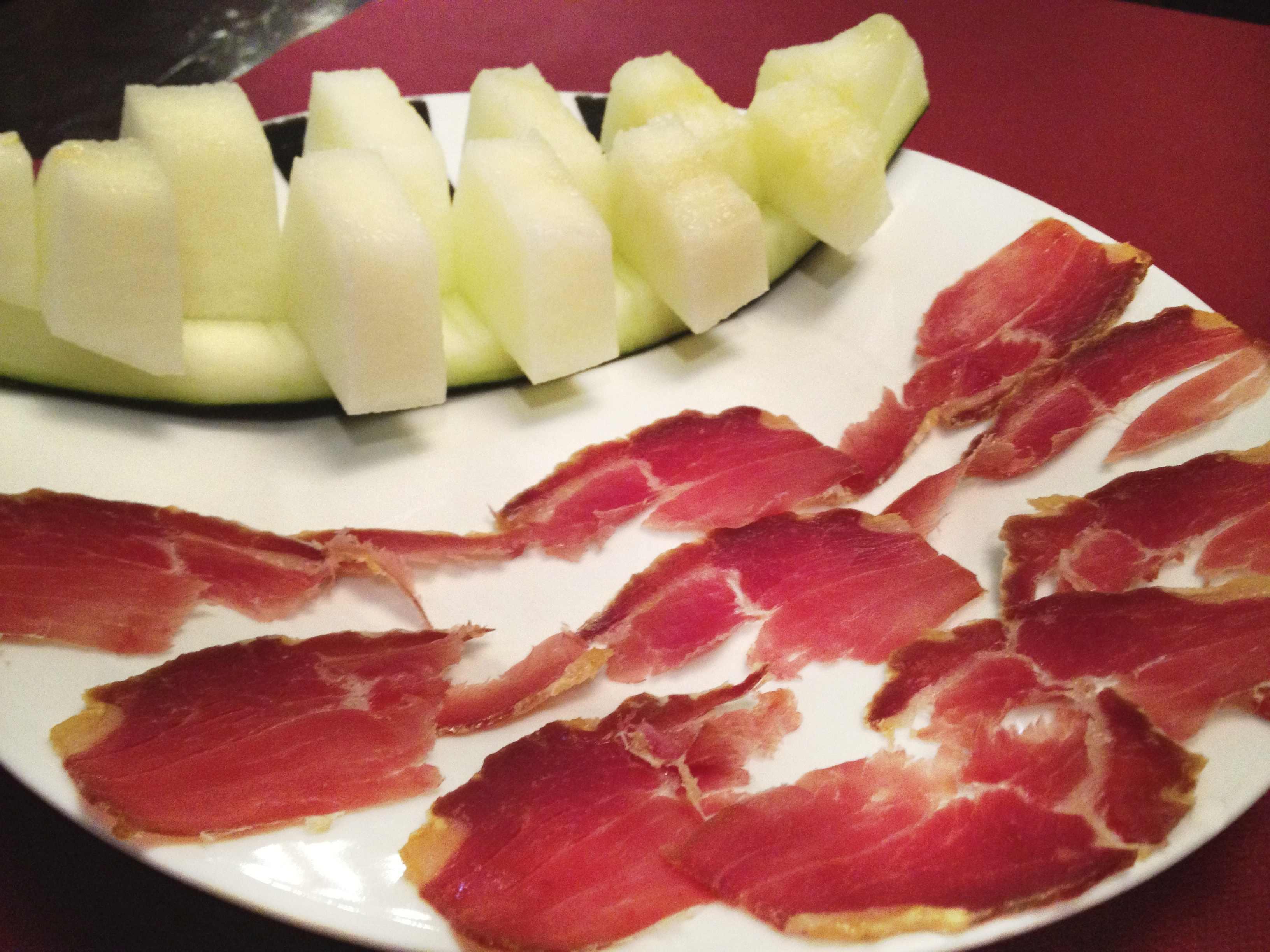 生ハムメロン(スペイン料理)