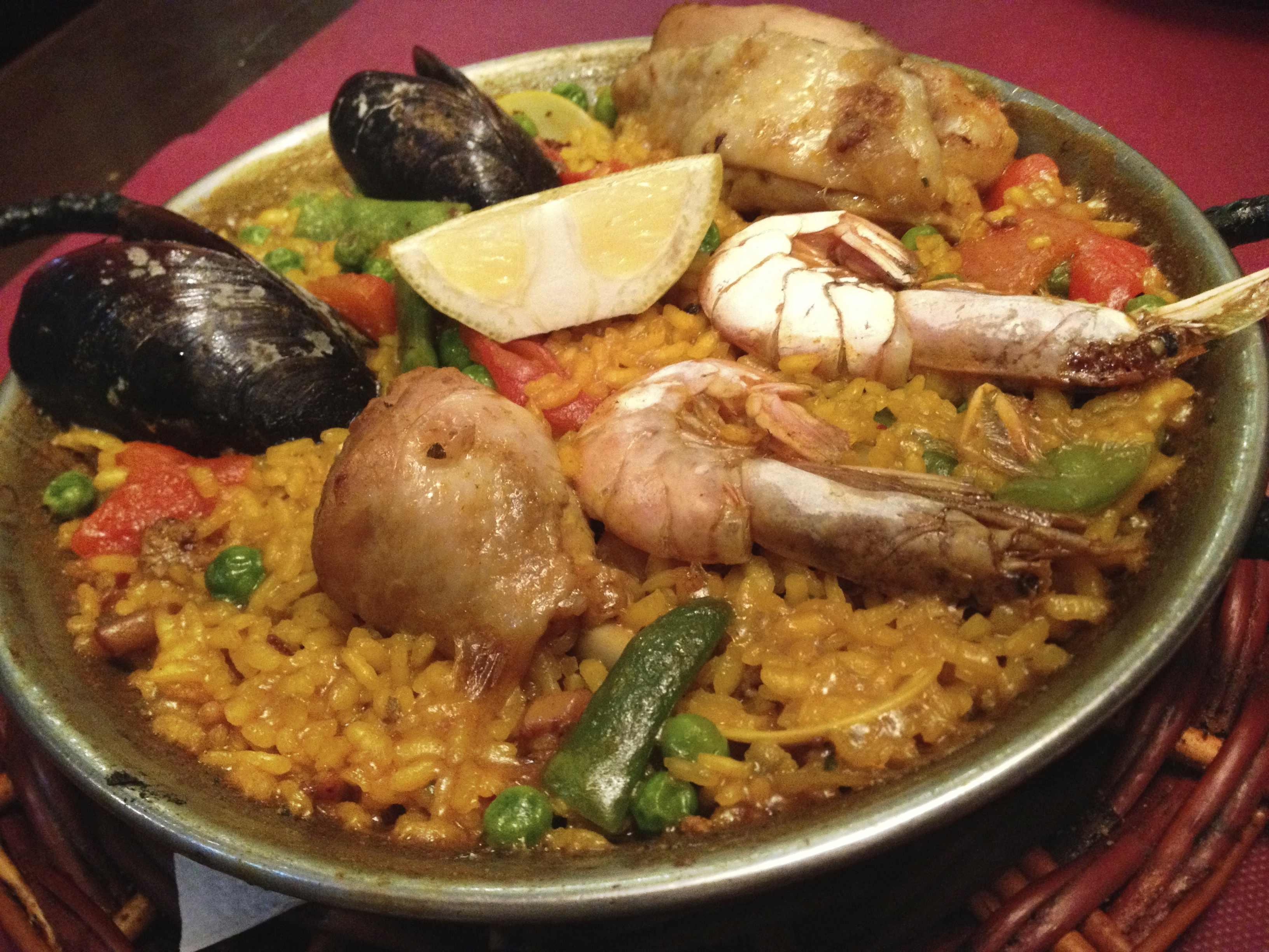 パエリア(スペイン料理)
