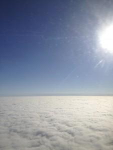 雲の座布団