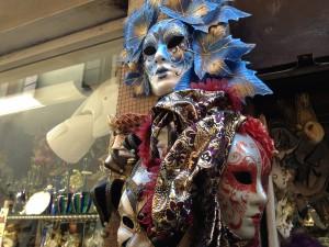 ヴェネチア仮面祭の仮面(イタリア雑貨)