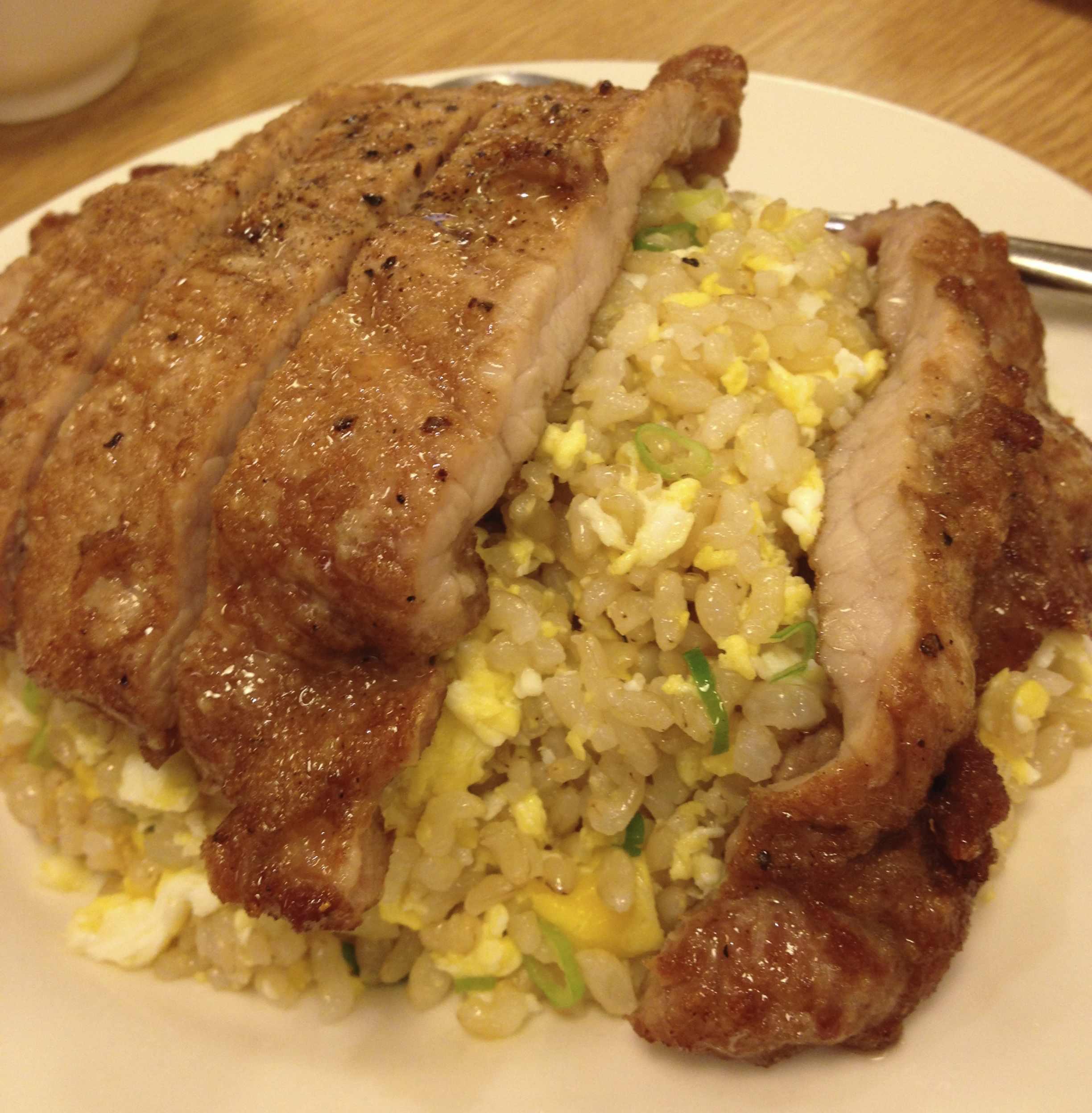パイコーチャーハン(台湾料理)