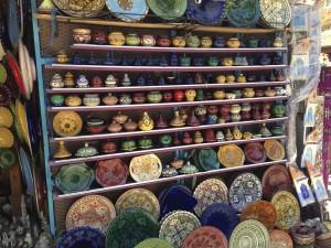 タジン鍋、モロッコ食器