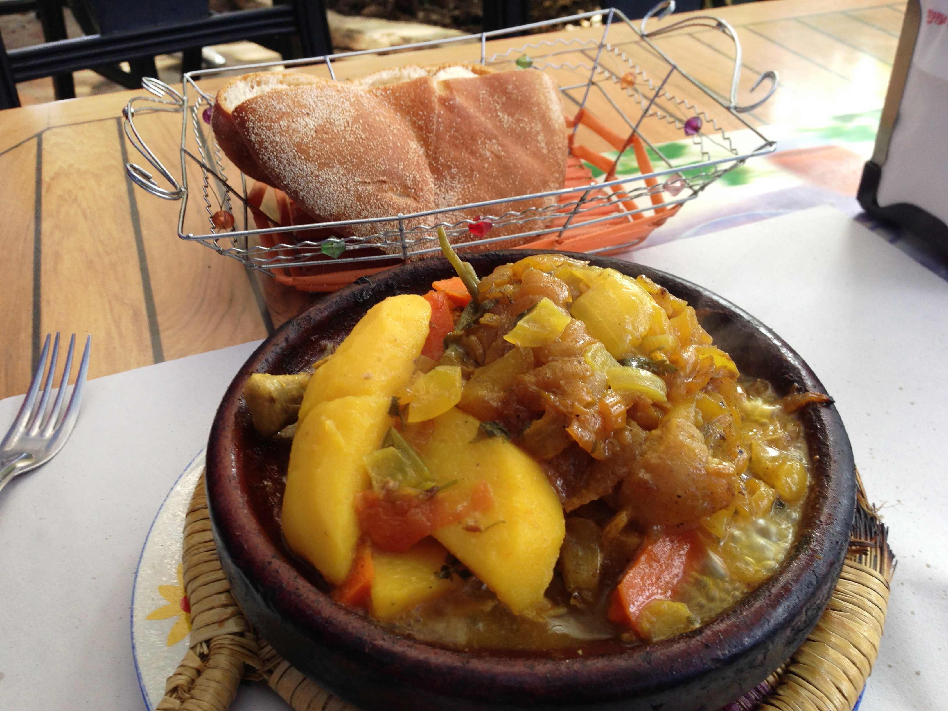タジン鍋(モロッコ料理)