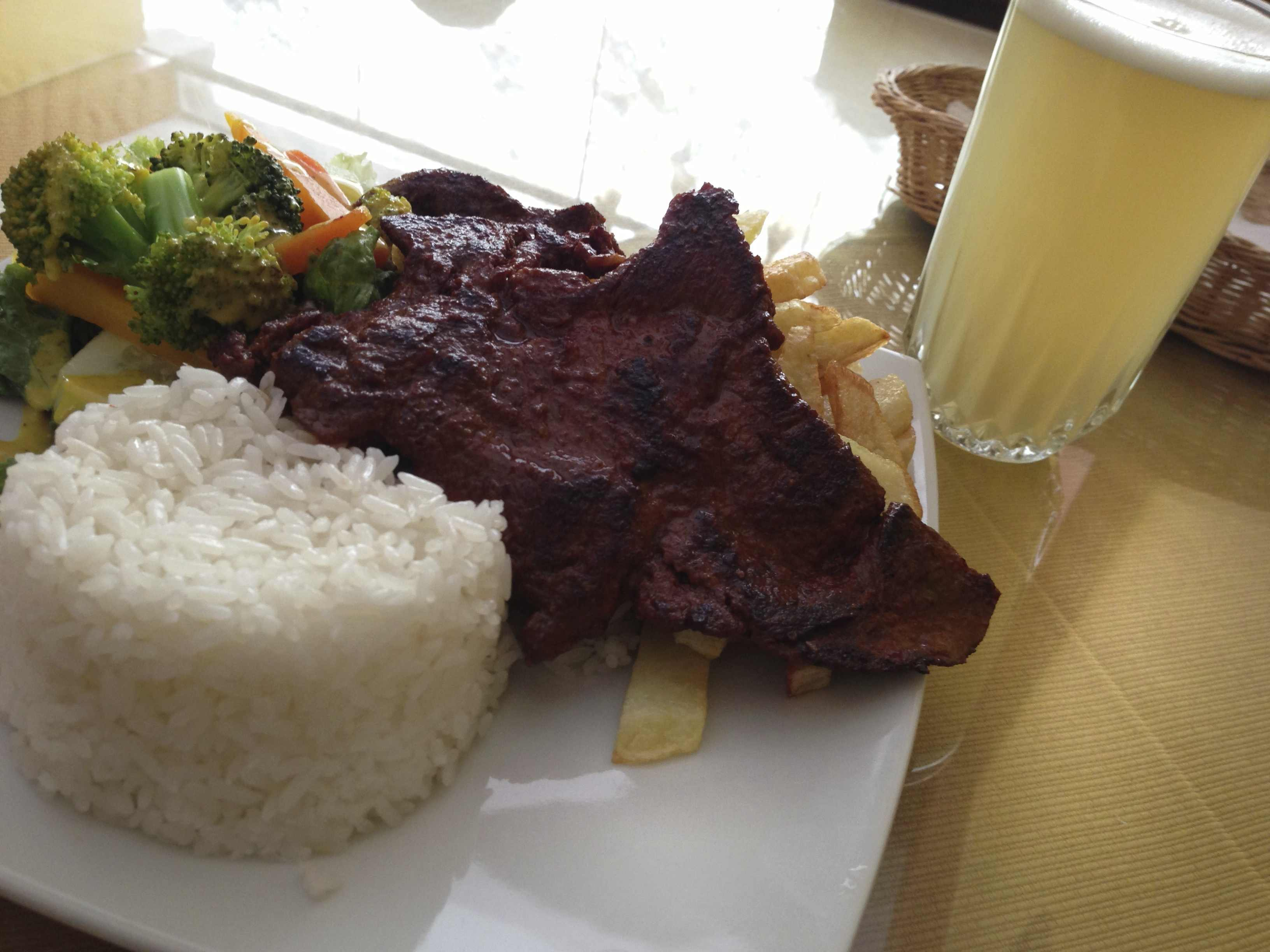アルパカの肉(ペルー料理)