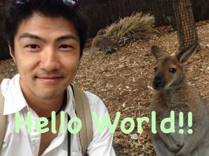 世界のあいさつ「Hello World!!」