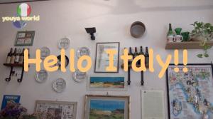 フィレンツェの小さなレストラン