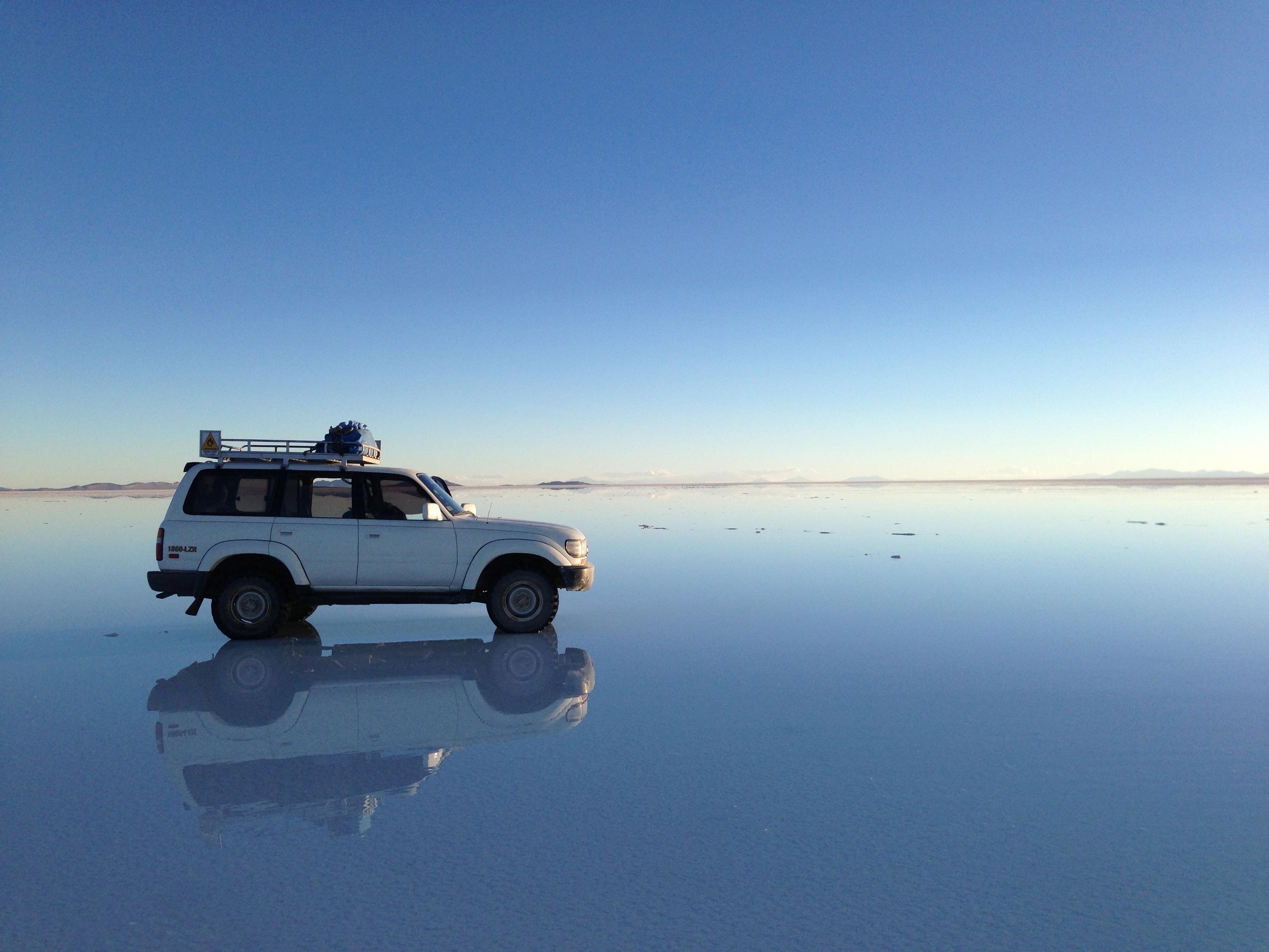 ウユニ塩湖/天空の鏡
