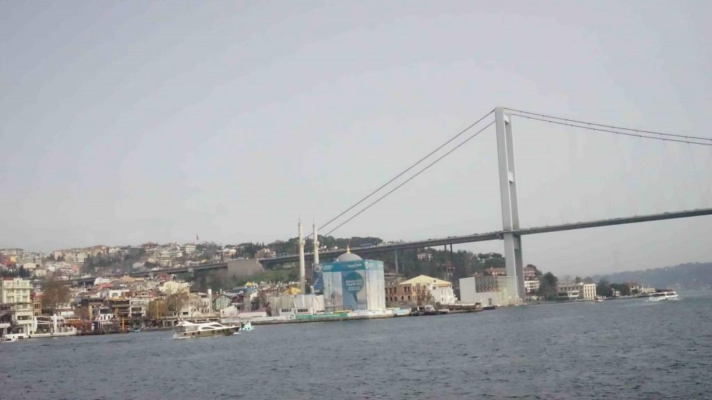 第一ボスポラス橋(The Bosphorus Bridge)