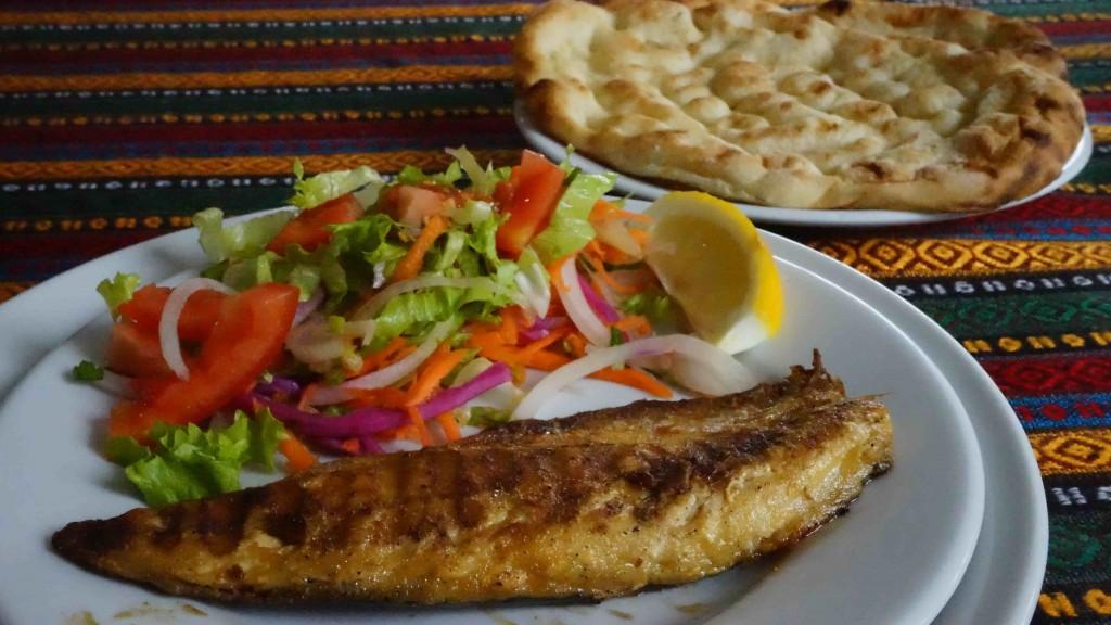 サバのグリル(トルコ料理)