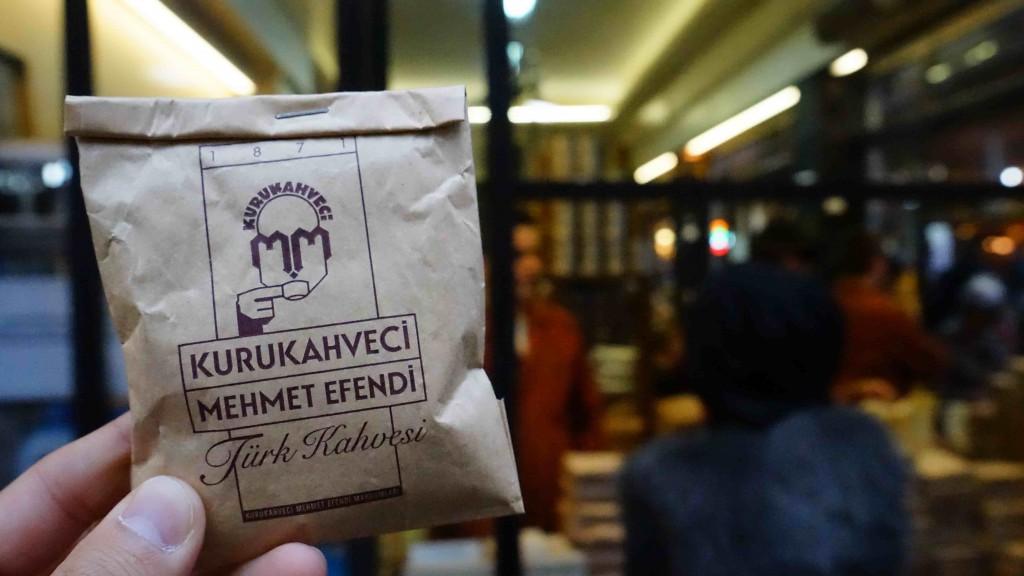 トルココーヒー(問屋街)