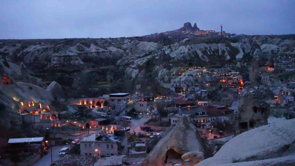 カッパドキアの夜景