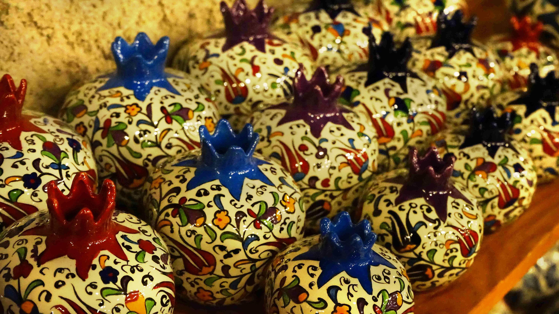 小物入れ・トルコの伝統的な陶器