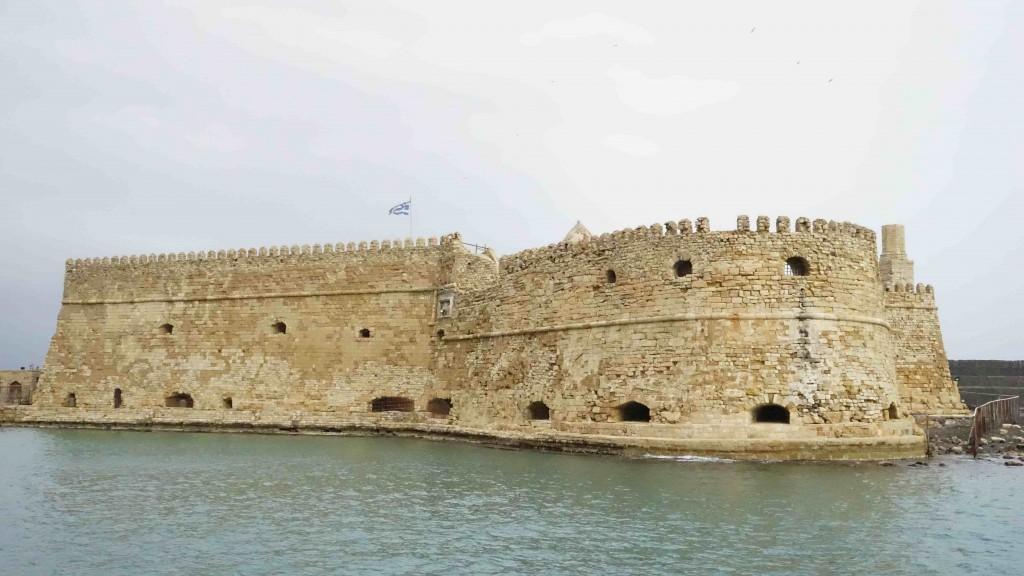 ヴェネツィア時代の要塞(クレタ島)