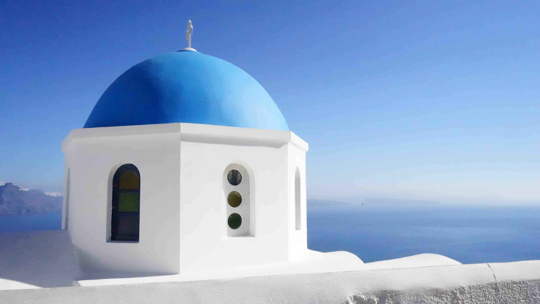 サントリーニ島(ギリシャ)