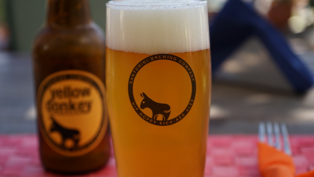 Yellow Donkey(サントリーニビール)