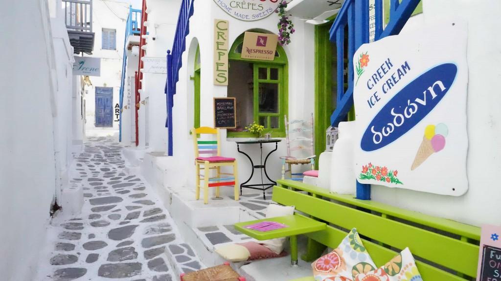ミコノス島の町並み(ギリシャ)