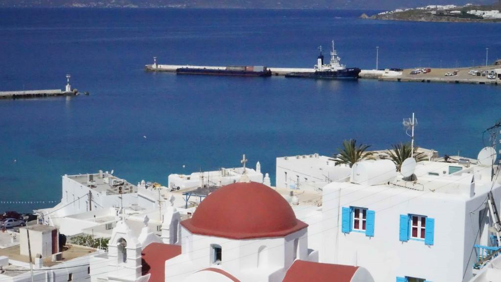 ミコノス島の風景(ギリシャ)