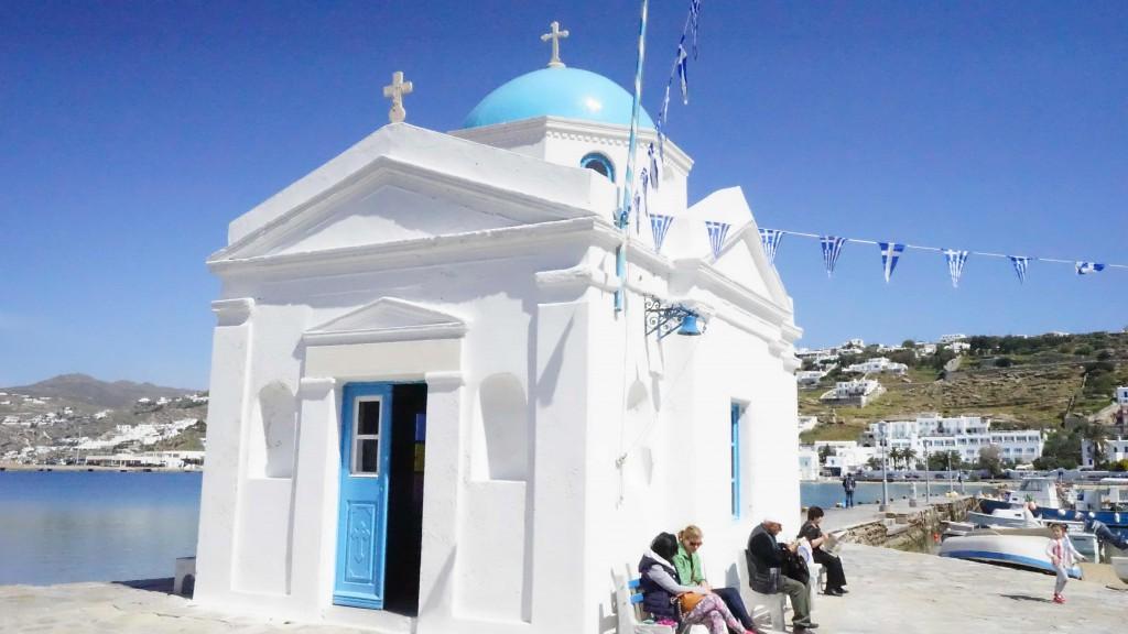 セント・ニコラス教会(ミコノス島)
