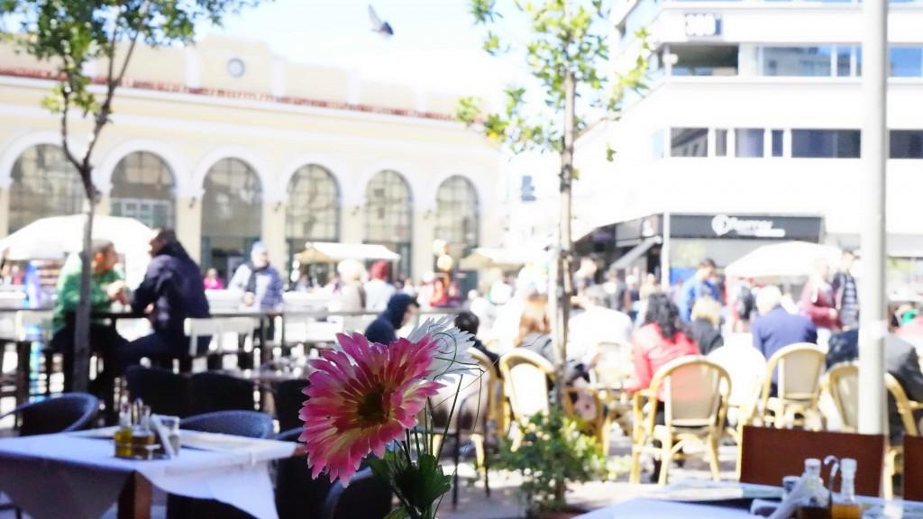 プラカ地区のレストラン(アテネ)