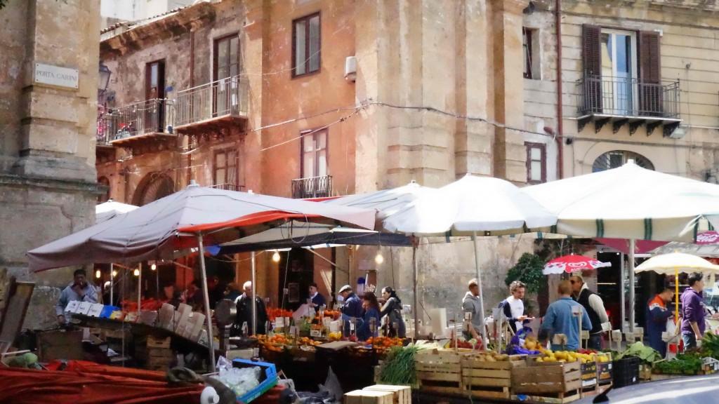 パレルモの市場(シチリア)
