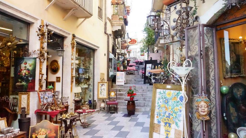 タオルミーナの風景(シチリア)