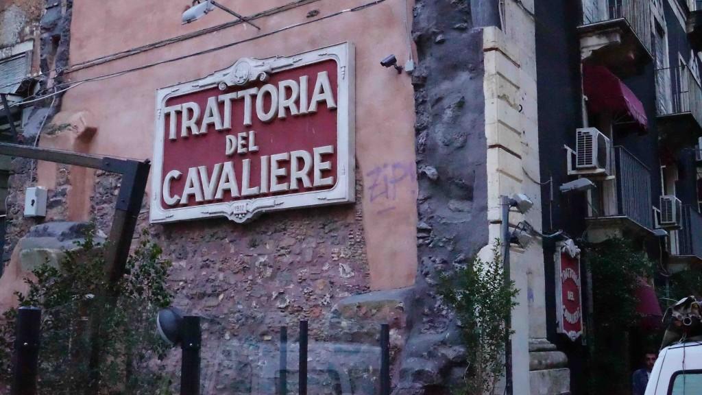Trattoria del Cavaliere(カターニア・トラットリア)
