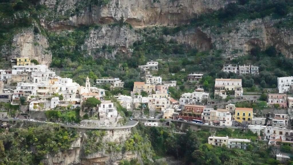 ポジターノの風景(イタリア)