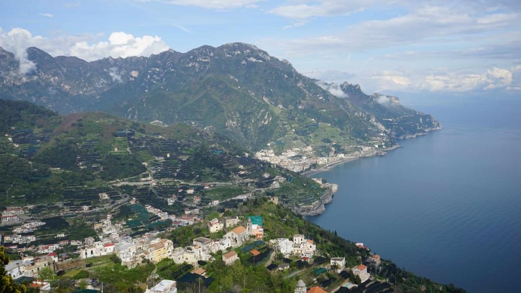 ラベッロからの風景(イタリア)