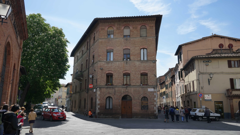 シエナ旧市街(イタリア)