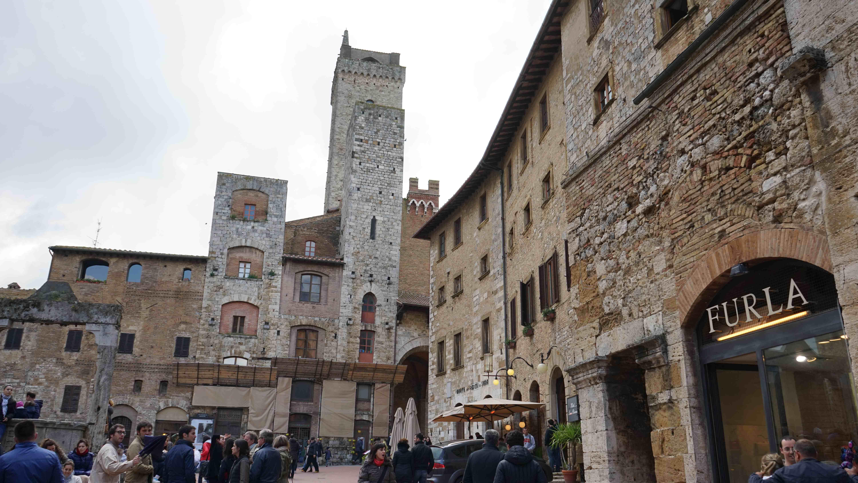 サンジミニャーノの町並み(イタリア)