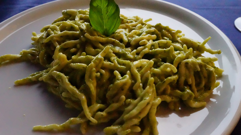 ヴェルナッツァで食べたパスタ(チンクエテッレ)