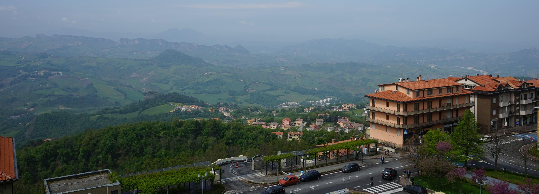 サンマリノ共和国の風景
