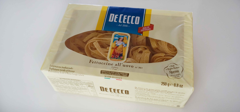 フィットチーネDe Cecco ディ・チェコの乾燥パスタ