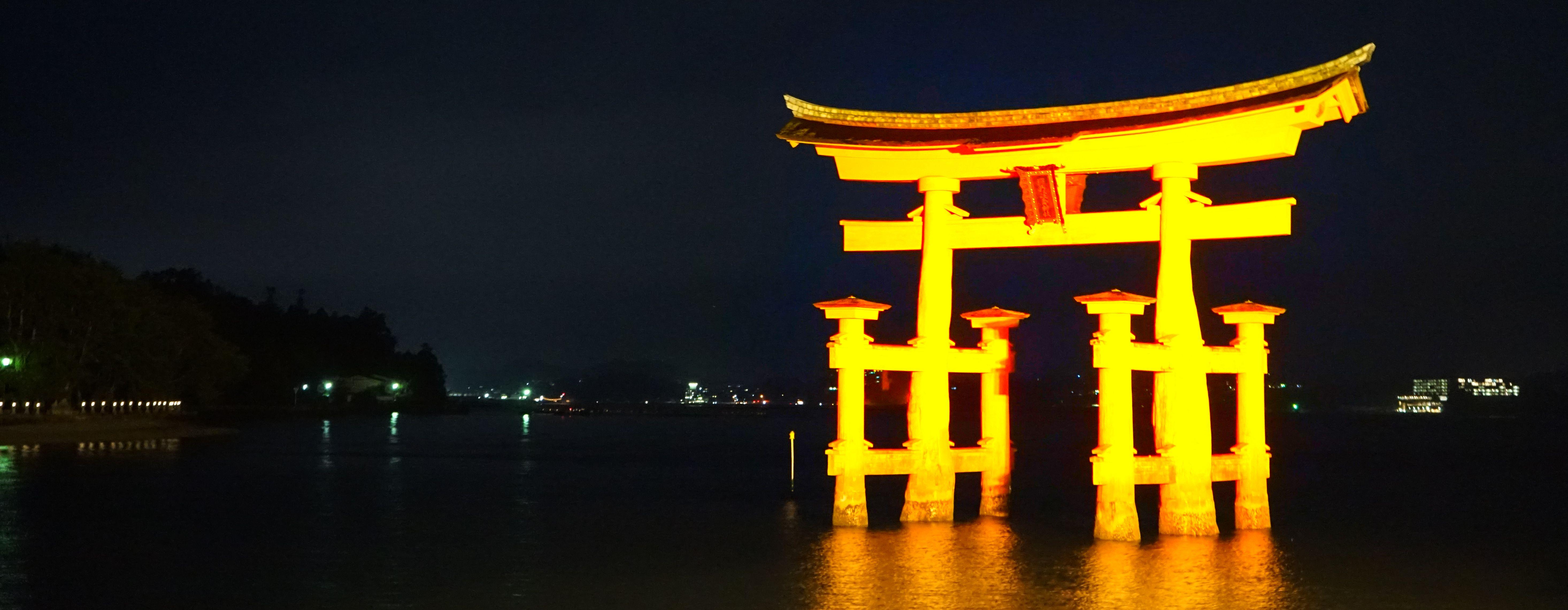 ライトアップ・厳島神社(宮島)