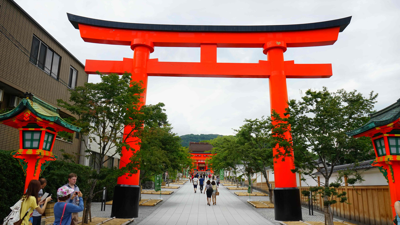 入り口・玄関 伏見稲荷大社(京都)