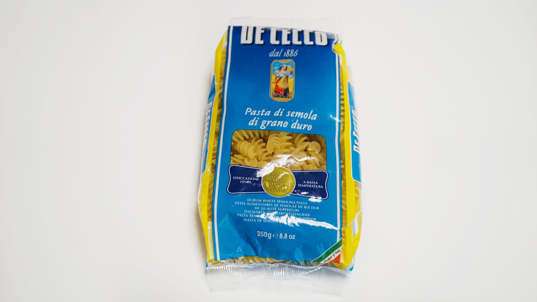 フスィリ(De Cecco ディ・チェコの乾燥パスタ)